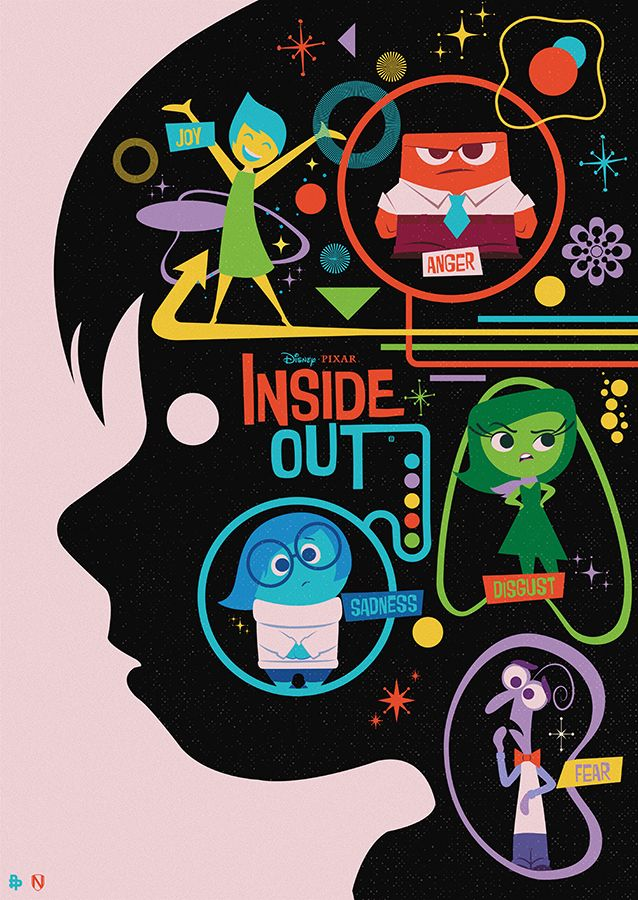 Disney Pixar Inside Out - Needle