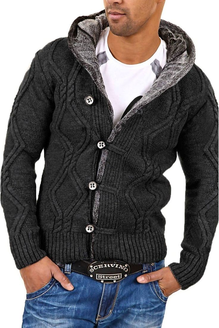 Carisma Men's sweater 7013 darkgrey Size S