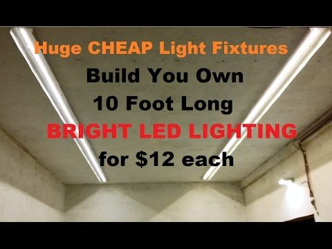 Make 10 Foot Led Strip Lights For 12 For Garage House Shop 12 Volt Parts Below Youtube Led Strip Lighting Strip Lighting Led