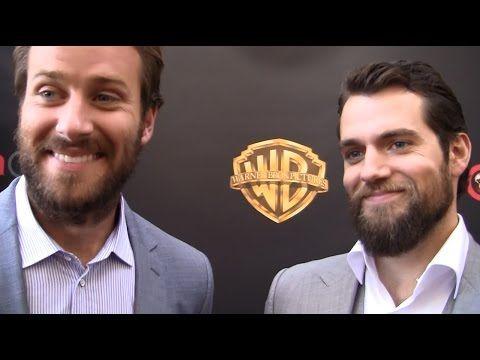 ColliderVideos: Armie Hammer and Henry Cavill Talk 'Man From U.N.C.L.E.', 'Batman vs Superman', More