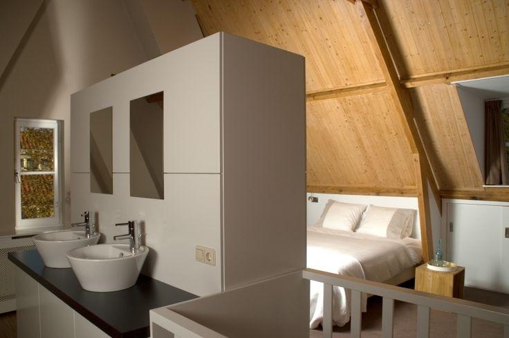 Interior design loft bedroom/bathroom, Eindhoven, the Netherlands