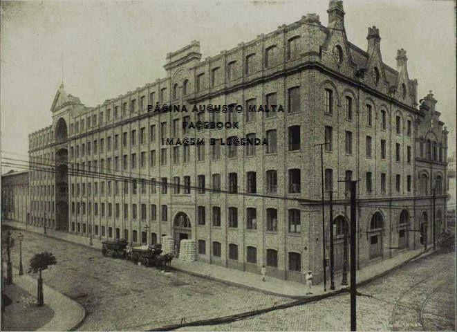 Prédio do Moinho Fluminense Rua Sacadura Cabral - Gamboa 1922