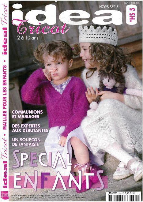 Photo: Idéal tricot enfants