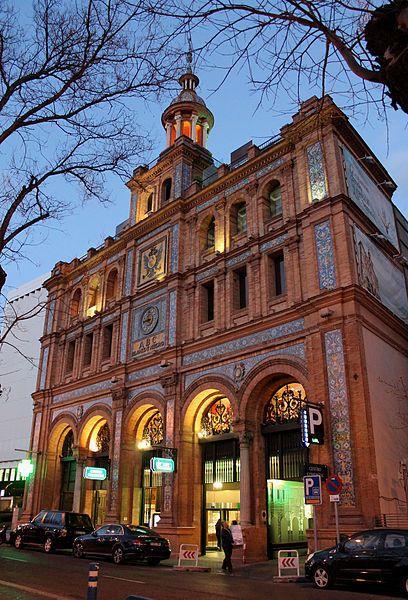 edificio ABC calle Serrano. Madrid.