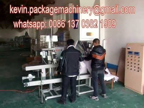 packing scale 25kg flour packaging machine   animal pellet packing machine