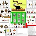 Celebrate Thanksgiving with Turkey Trouble! This book companion provides literacy, language and listening activities to accompany the book by Wend...
