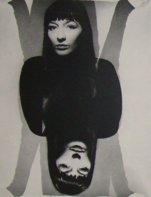 Erwin Blumenfeld - Juliette Greco, 1951.