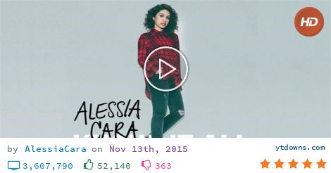 Download Alessia cara album videos mp3 - download Alessia cara album videos mp4 720p - youtube...