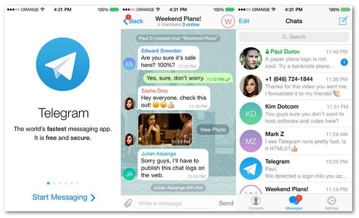 Telegram, un'App gratuita che sfida WhatsApp