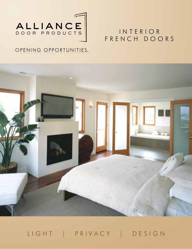 Alliance Door Products   Interior French Door   CANADA