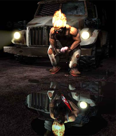Twisted Metal The Movie??!! YES YES YES!      Sony Pictures is making a Twisted Metal Movie. Sony has made deal with Brian Taylor to write and direct a live action adaptation of the iconic video game Twisted Metal. Now this is
