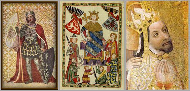 The most important personalities of Czech medieval state: St.Wenceslas (Václav I., Duke of Bohemia); Přemysl Otakar II. (King of Bohemia); Charles IV. (King of Bohemia & the Emperor of Holy Roman Empire) #Czechia #articles #czechhistory #history