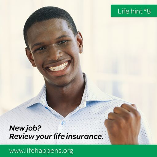 New job? Promotion? Then it's an excellent time to review your life insurance! Call/Text today 816-590-8028 #newjob #review