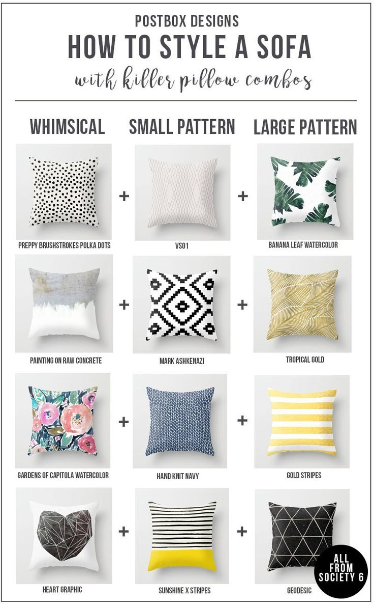 Postbox Designs Interior E-Design: FREE GUIDE: Create the Perfect Pillow Combo for your Living Room Sofa, Online Interior Design