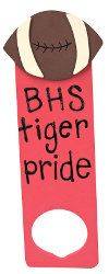 quick craft for school spirit. This could go on your classroom ideas board. @Alyssa Ryan