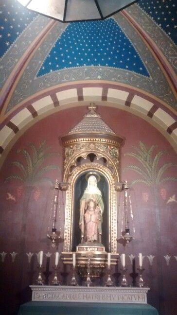 Santa Ana/ Mosteiro de São Bento/ São Paulo BR 07/2017
