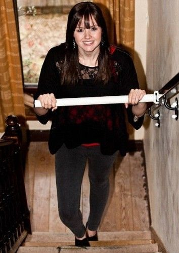 StairSteady inventor created the stability bar to aid stair-climbing/descending for individuals with limited mobility when she was only 16 yrs. old! Can be configurated in various ways.