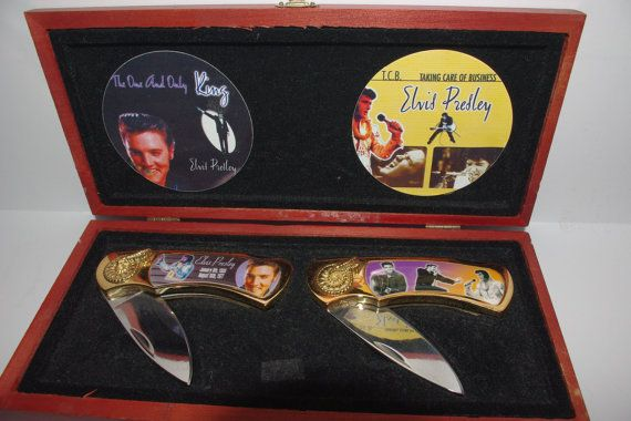 2 Collector Knives Stainless Steel with by StetsonCollectibles