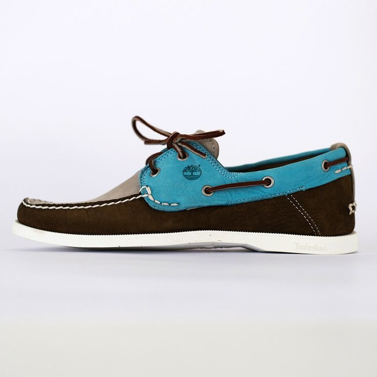 TIMBERLAND - C6935A EKHERT2EYE - sl/brn/teal shoes