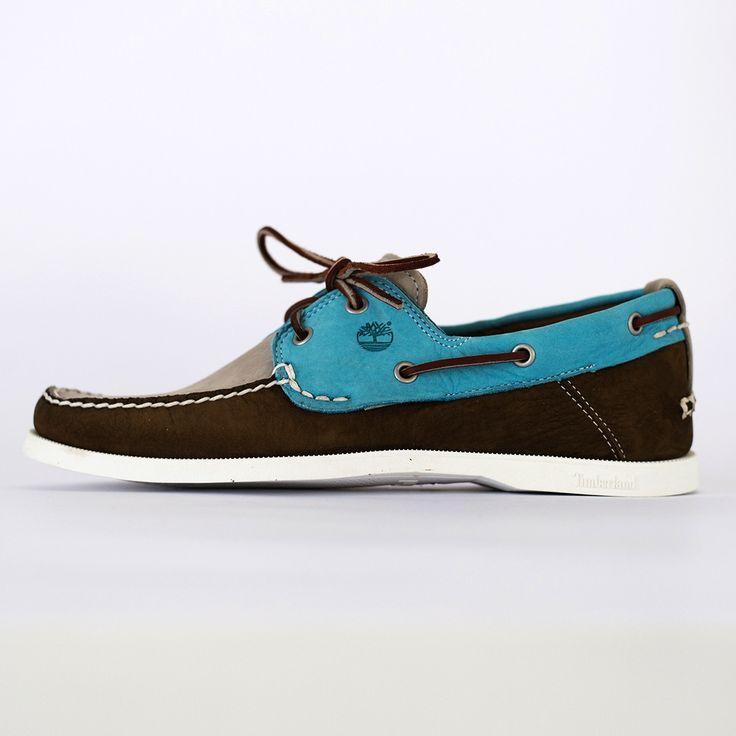 TIMBERLAND - C6935A EKHERT2EYE - sl/brn/teal shoes   Dangerous Minds