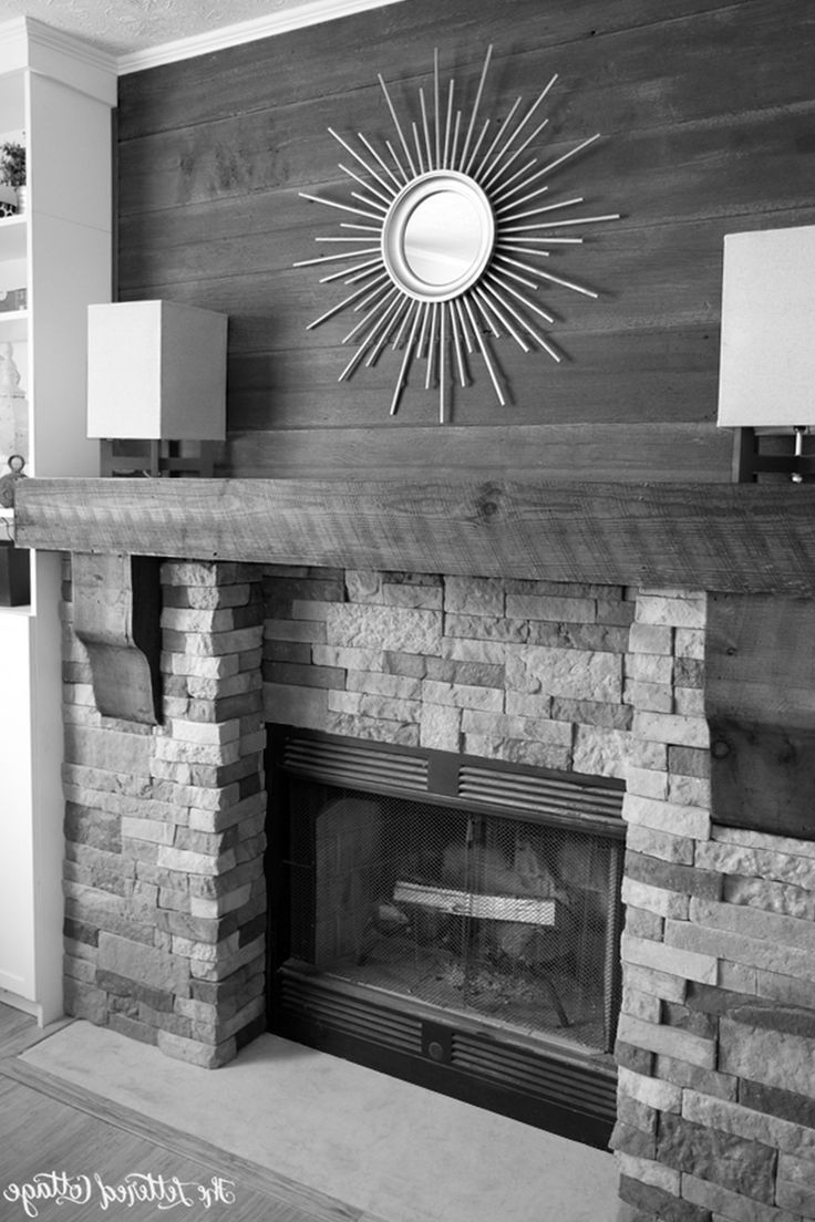 Endearing Pictures Of Stone Fireplaces Build Magnificent Large Stone Fireplace Wonderful Element Ambience: Airstone Fireplace Makeover Faux Stone The Lettered Cottage2 Surprising Fireplace Design Astonishing Fake Stone For Fireplace Post Modern Style ~ francotechnogap.com Home Accessories Inspiration