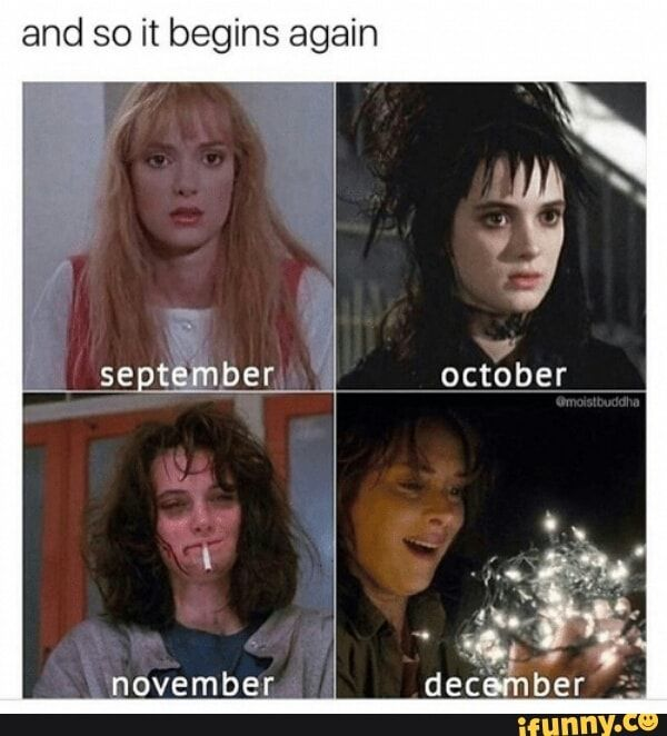 And So It Begins Again Ifunny Stranger Things Funny Stranger Things Meme Winona Ryder