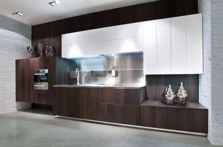 Monolite #kitchen - Trend colour varnish, satin or glossy finish ...