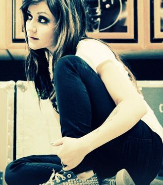 Lacey Sturm from the band FlyLeaf.