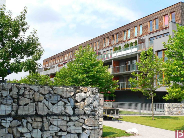 Betafence: Kosze gabionowe na osiedlu mieszkaniowym