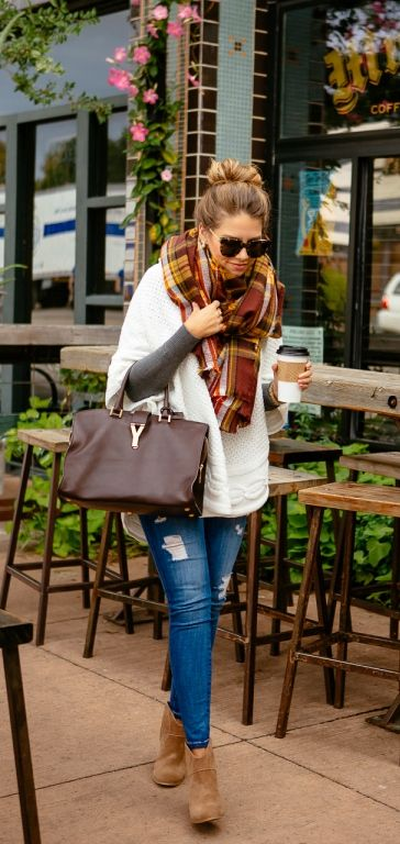 Simple stylish fall outfit