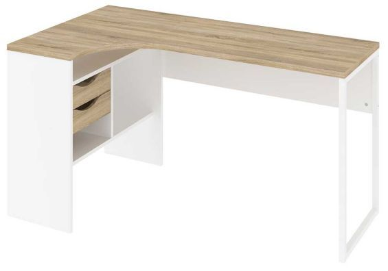 1000 ideas about white corner desk on pinterest corner desk stand up workstation and - Tesco office desk ...
