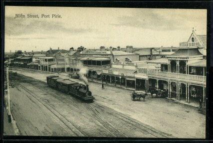Port Pirie : Ellen Street (Steam Locomotive).