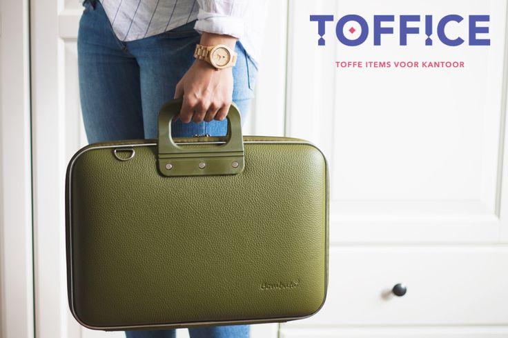 Trendy laptoptassen - moderne kleuren - italiaans design en prachtige afwerking !