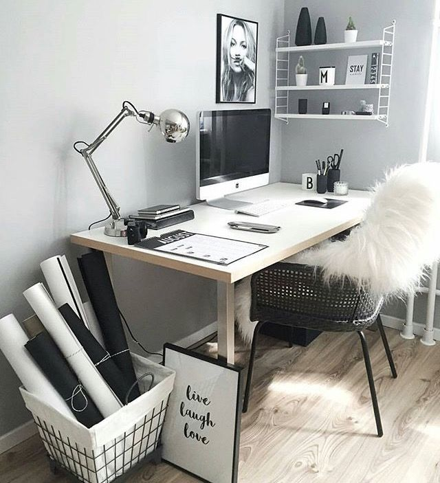 20 Inspiring Home Office Design Ideas For Small Spaces: Best 25+ Desk Inspiration Ideas On Pinterest