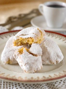 Around the World in Four Cookies: Persian Rice Cookies, Scourtins (French Olive Cookies), Polish Raspberry Mazurkas, and Ricciarelli (Sienese Almond Cookies)