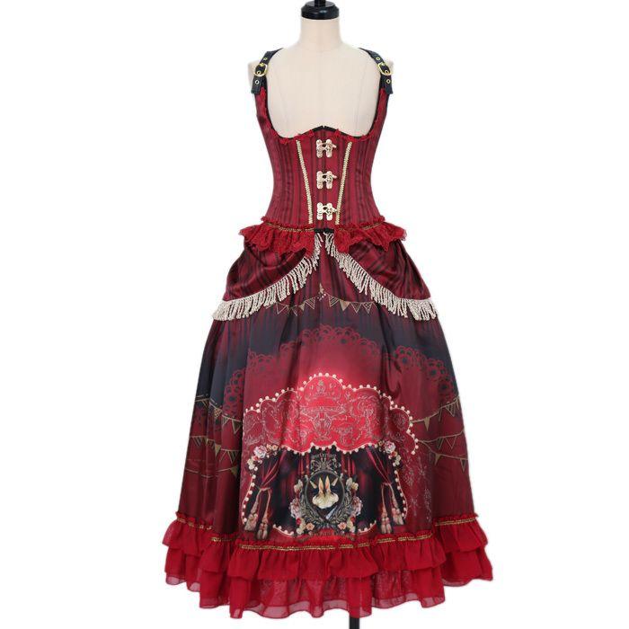 Surfacespell ☆ ·. . · ° ☆ Freak Show corset and long skirt https://www.wunderwelt.jp/fleur/products/s-00097  IOS application ☆ Alice Holic ☆ release Japanese: https://aliceholic.com/ English: http://en.aliceholic.com/