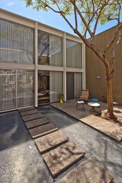 Opdahl Residence    Architect: Ed Killingsworth (1958)  Location: 5576 Vesuvian Walk, Long Beach