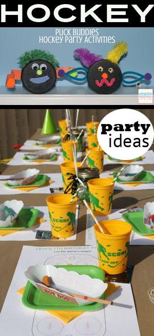 Hockey Party ideas- so cute!