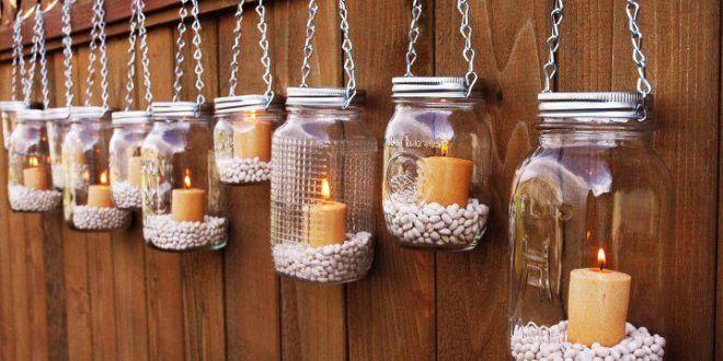Kreative Dekorationsideen mit Kerzen