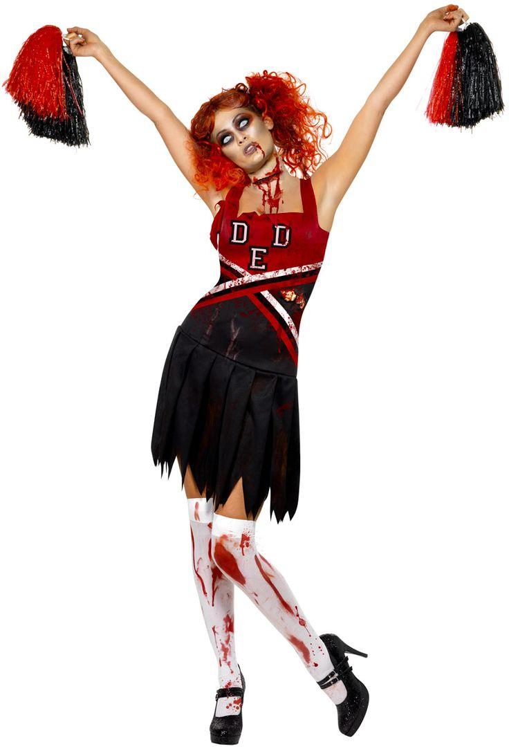 Adult Zombie Cheerleader Costume