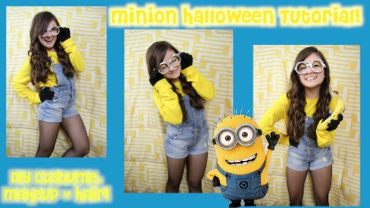DIY Minion Halloween Costume (Despicable Me)