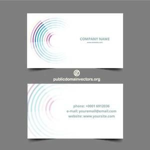 36 best business card template vector public domain images on vector template for business cards with abstract graphics reheart Image collections