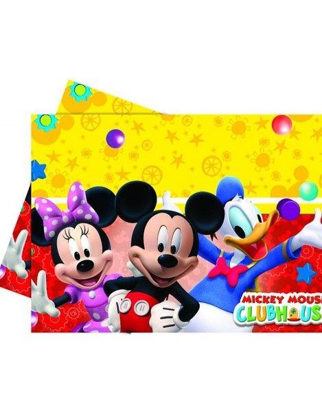 Скатерть Микки и Минни Маус для детской вечеринки — http://fas.st/R38Yr