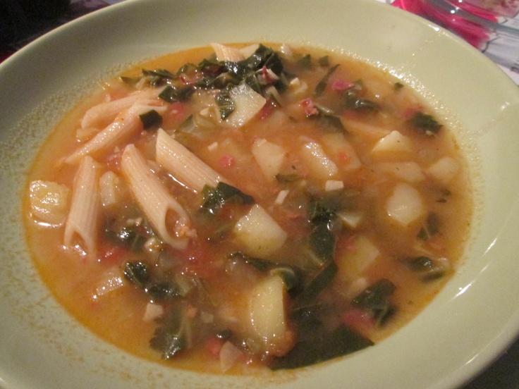 Italian Winter Minestrone Soup