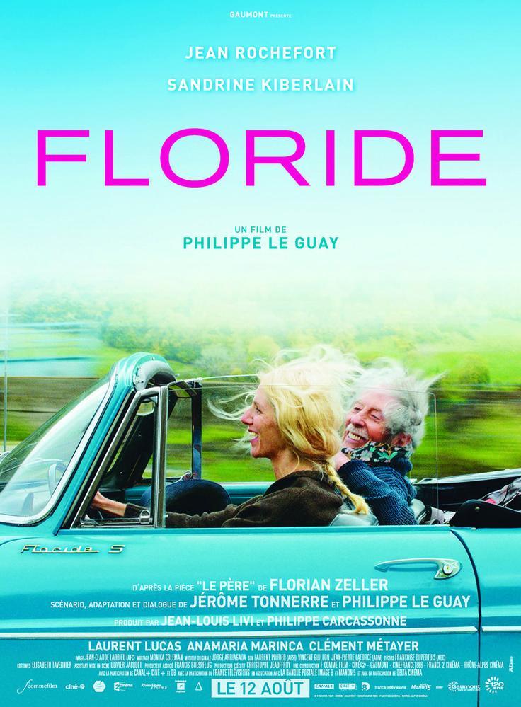 Floride est un film de Philippe Le Guay avec Jean Rochefort, Sandrine Kiberlain. Synopsis : A 80 ans, Claude Lherminier n'a rien perdu de sa prestance. Mais il lui arrive de plus en plus souvent d'avoir des oublis, des accès de confusio