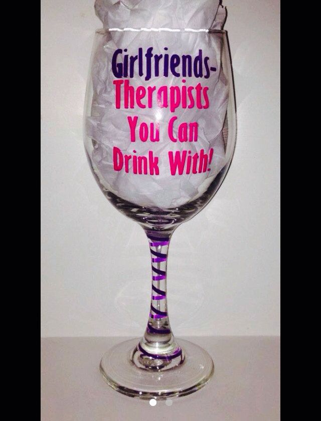 Girlfriends Therapist You Can Drink With