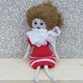 Deux Pieces Fabric Doll