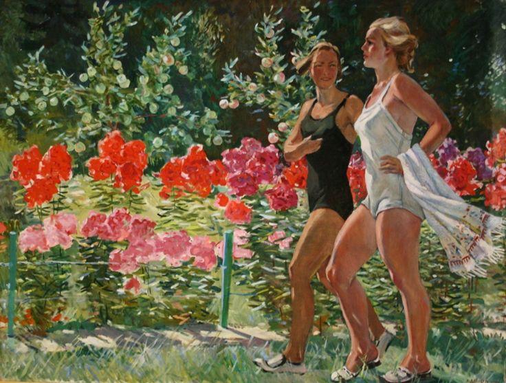 А.Дейнека «Девушки в выходной день» 1958