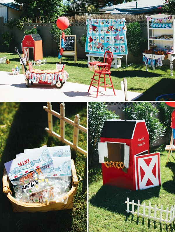 Love this!!!   {Amazing!} Rustic & Vintage County Fair First Birthday