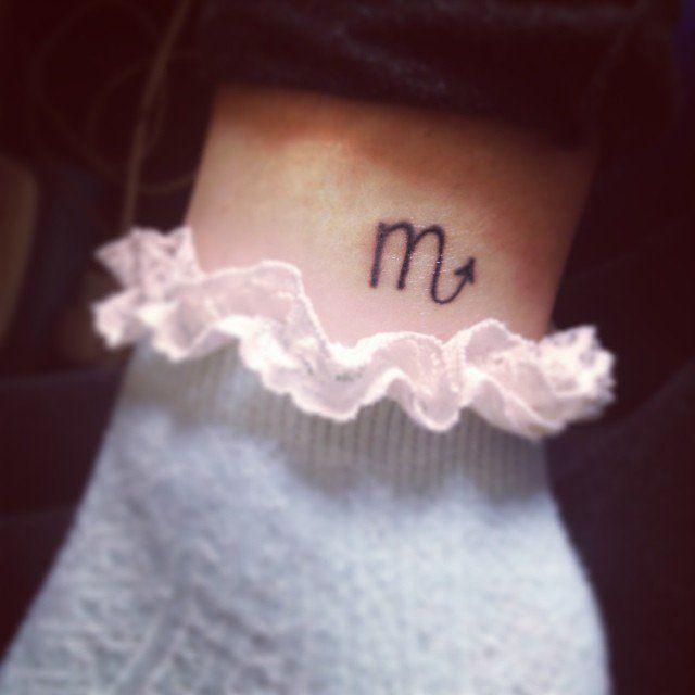 Pin for Later: 12 Tattoos, inspiriert von eurem Sternzeichen Skorpion